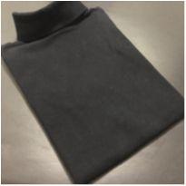 Camiseta M/L - Lisa super soft com gola alta - Noruega - 14 anos - Noruega
