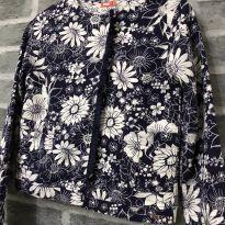 Casaco - Estilo casaqueto com bolsos e franjas frontais - PUC (Tam 16) - Único - PUC