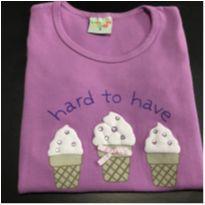 Camiseta - Manga curta cotton SORVETINHOS - Have Fun - 3 anos - Have Fun