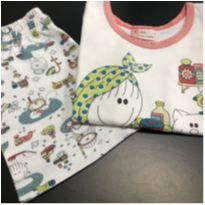 Pijama - Regata estampa Hora do Banho + Shorts - Sonhart