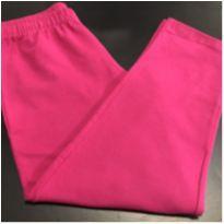 Calça - Capri cotton lisa pink - Desconhecida (Tam. 16) - 16 anos - Desconhecida