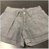 Shorts - Estilo alfaiataria com cinto - Marisol - 10 anos - Marisol