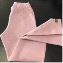 Calça - Legging cotton lisa - Green - 5 anos - Green