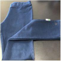 Calça - Legging cotton lisa azul marinho com detalhe coração (1) - PUC - 10 anos - PUC