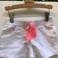 Shorts - Moletom leve com bolsos - Cintura Elástico - Carter´s - 6 anos - Carter`s