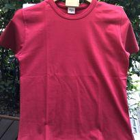 Camiseta M/C - Basica vermelha - Elian - 14 anos - Elian