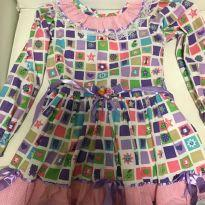 Vestido Festa Junina - 6 anos - Picurica