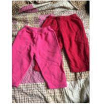kit calças - 0 a 3 meses - Não informada