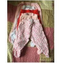 kit calças - mijão - Recém Nascido - Não informada