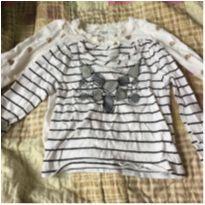 kit camisetas manga longa - 12 a 18 meses - Old Navy e GAP