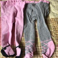 kit meia calças - 3 a 6 meses - Não informada