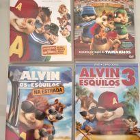 COLEÇÃO DE 4 FILMES - ALVIN E OS ESQUILOS -  - Não informada