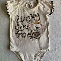 Body Lilica Ripilica - 6 a 9 meses - Lilica Ripilica Baby