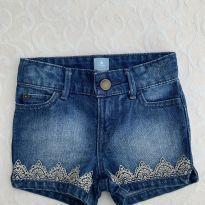 Shorts Jeans Gap - 12 a 18 meses - Baby Gap
