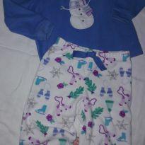 Pijama carters boneco de neve - 18 meses - Carter`s
