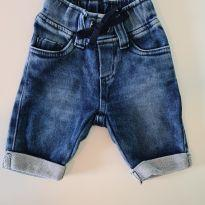 Bermuda Jeans - 9 a 12 meses - Outras
