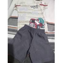 Conj. Camiseta c/ Shorts TRICK - 6 meses - Trick