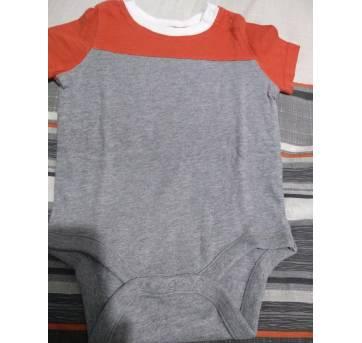 body manga curta - BABY GAP - 3 a 6 meses - Baby Gap