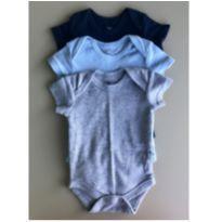 Kit 3 Bodies - 0 a 3 meses - Club Baby