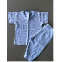 Pijama Curto de Coelhinho - Recém Nascido - Ninna Nana