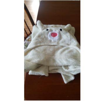 manta com touca de urso - Sem faixa etaria - Lepper