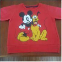 Blusa de moletom Mickey - 9 a 12 meses - C&A