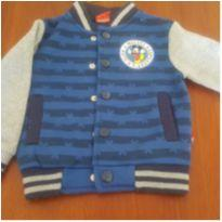 Blusa do Mickey de botão - 1 ano - pernambucanas
