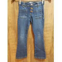Calça jeans infantil menina - 6 anos - Não informada ( Replica)