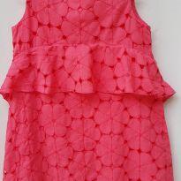 Vestido Rosa Pink Zara - 7 anos - Zara