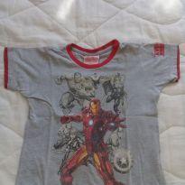 Camiseta heróis - 4 anos - MARVEL