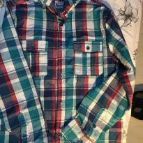 Camisa xadrex - 10 anos - Figurinha