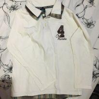 Camisa manga comprida 8 anos - Onda Marinha - 8 anos - Onda Marinha
