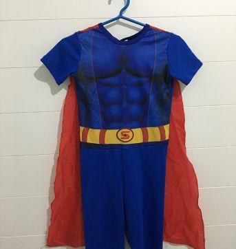 Fantasia do Super Homem - Sem faixa etaria - Não informada