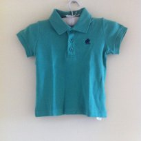 Camisa Polo - 9 a 12 meses - Baby Cottons