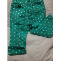 Calça Jeans Estampada Poim Renner - 1 ano - Póim