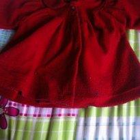 Casaco Vermelho - 1 ano - Várias