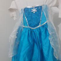 Vestido Elsa -  - Fantasia de crianca