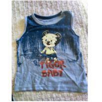 Camiseta regata tigor baby - 18 a 24 meses - Tigor Baby