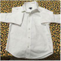 Camisa de manga longa. - 4 anos - Baby Gap