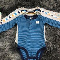 Borys carters - 3 a 6 meses - Carter`s