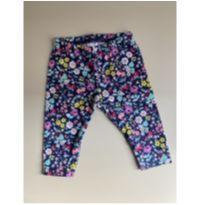 Legging floral neon - 6 meses - Carter`s