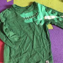 Camiseta gap manga longa - 3 anos - GAP
