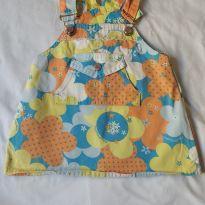 Salopete/vestido Lilica Ripilica - 6 a 9 meses - Lilica Ripilica