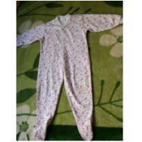 Pijama macacão com pé fechado - 18 a 24 meses - rockport