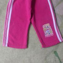 Calça de moletom rosa - 1 ano - Pituki