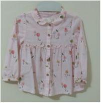 Camisa Zara Baby - 9 a 12 meses - Zara Baby