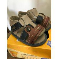 sandalia de couro - 16 - Sem marca