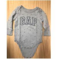 Body baby GAP original azul claro - 9 a 12 meses - Baby Gap
