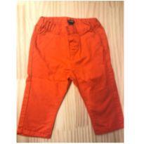 Calça cumprida laranja - 1 ano - Kiabi Baby