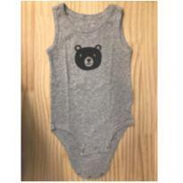 Body carters camisetinha urso - 1 ano - Carter`s